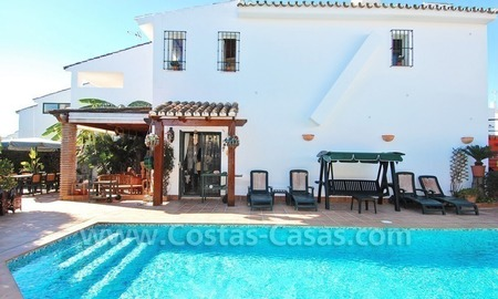Beachside townhouse close to the beach for sale in Marbella 0