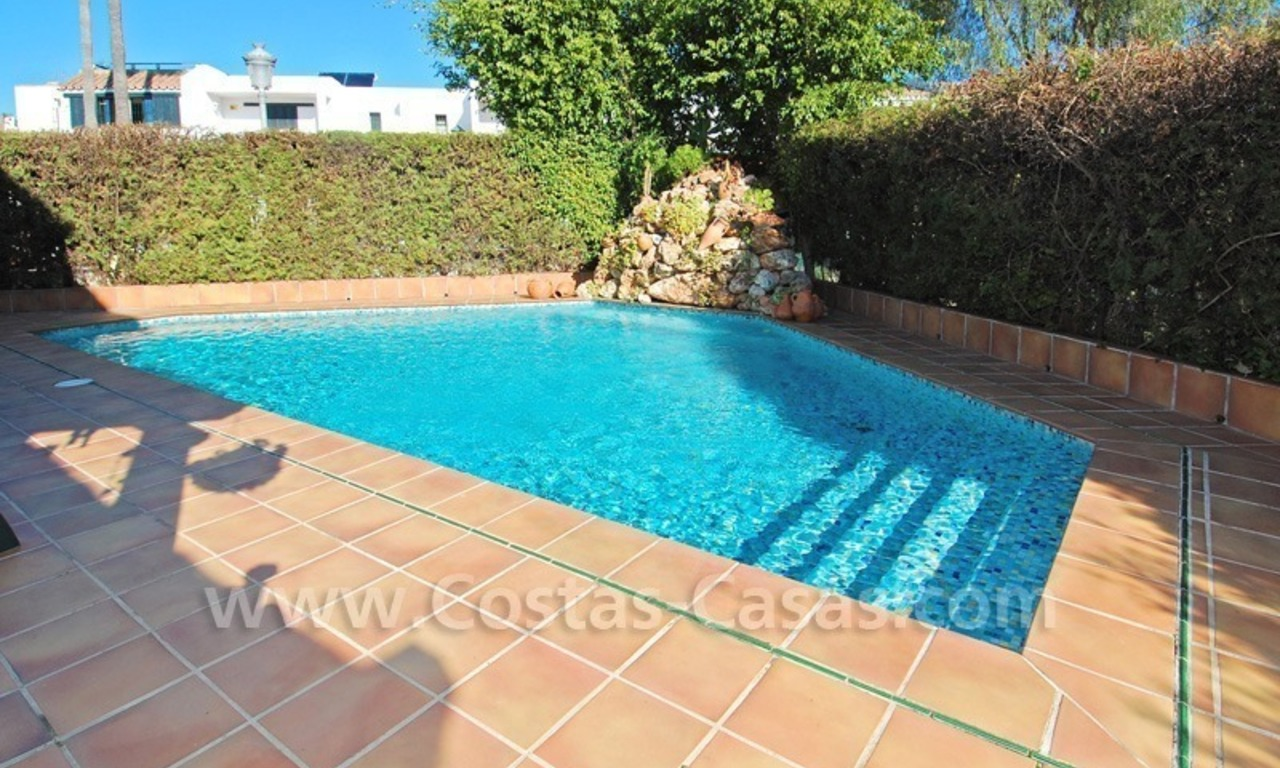 Beachside townhouse close to the beach for sale in Marbella 1