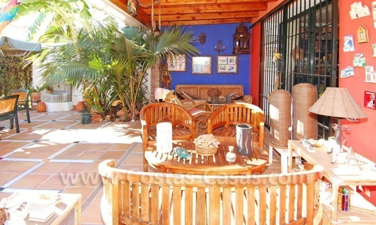 Beachside townhouse close to the beach for sale in Marbella 2