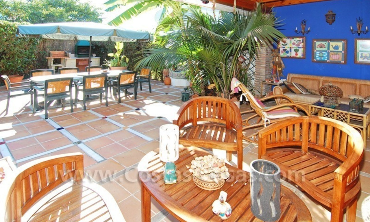 Beachside townhouse close to the beach for sale in Marbella 3