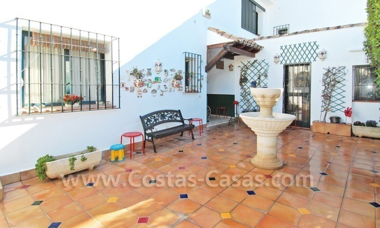 Beachside townhouse close to the beach for sale in Marbella 4