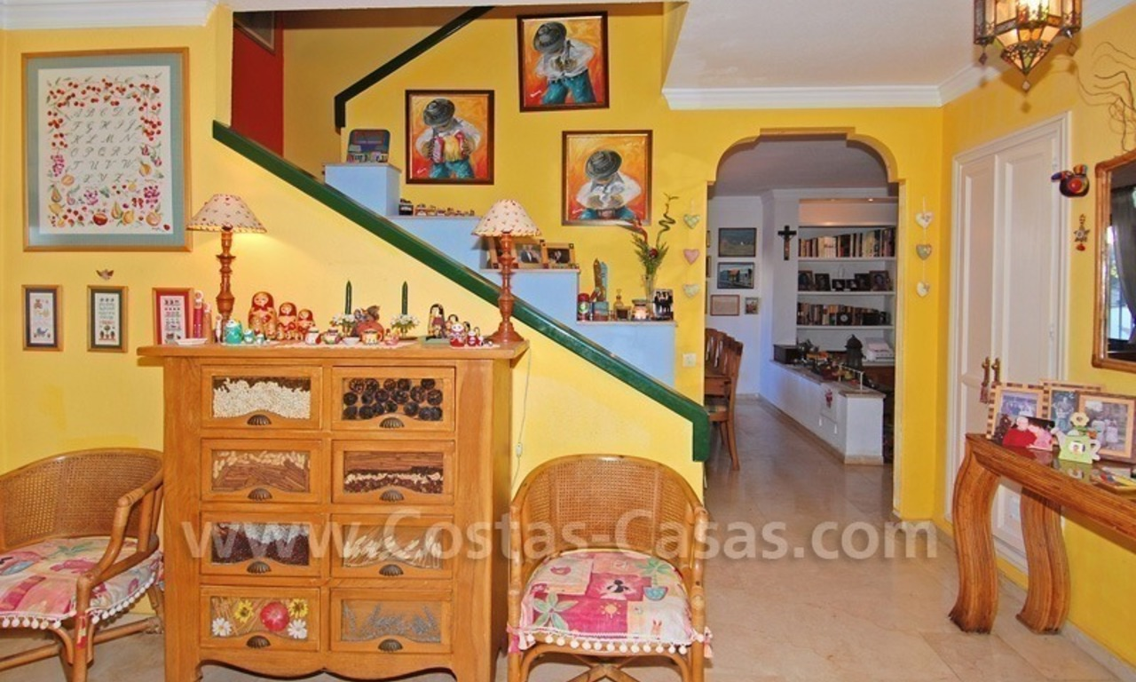 Beachside townhouse close to the beach for sale in Marbella 5
