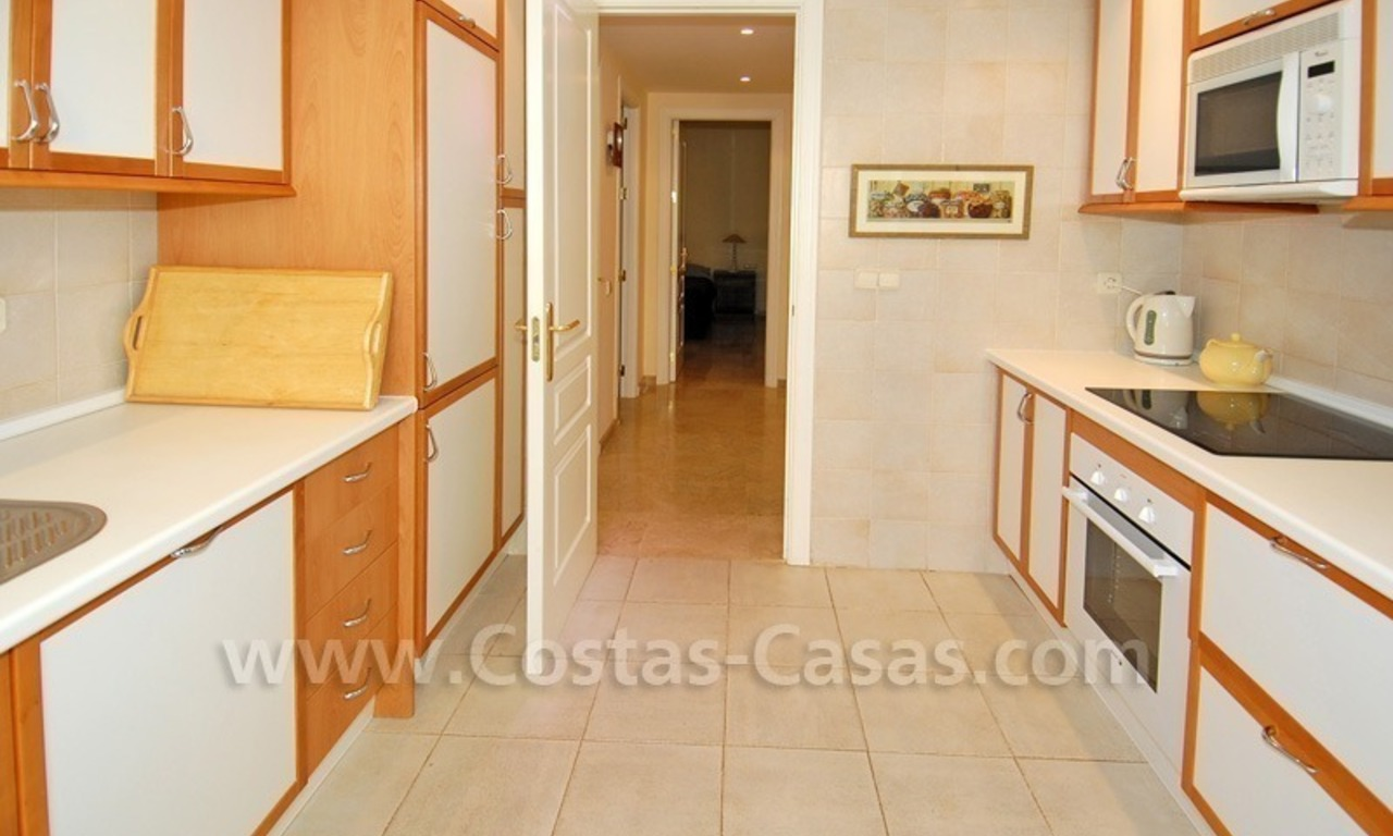 Front line golf apartment for sale in East Marbella 10
