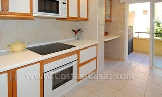 Front line golf apartment for sale in East Marbella 11