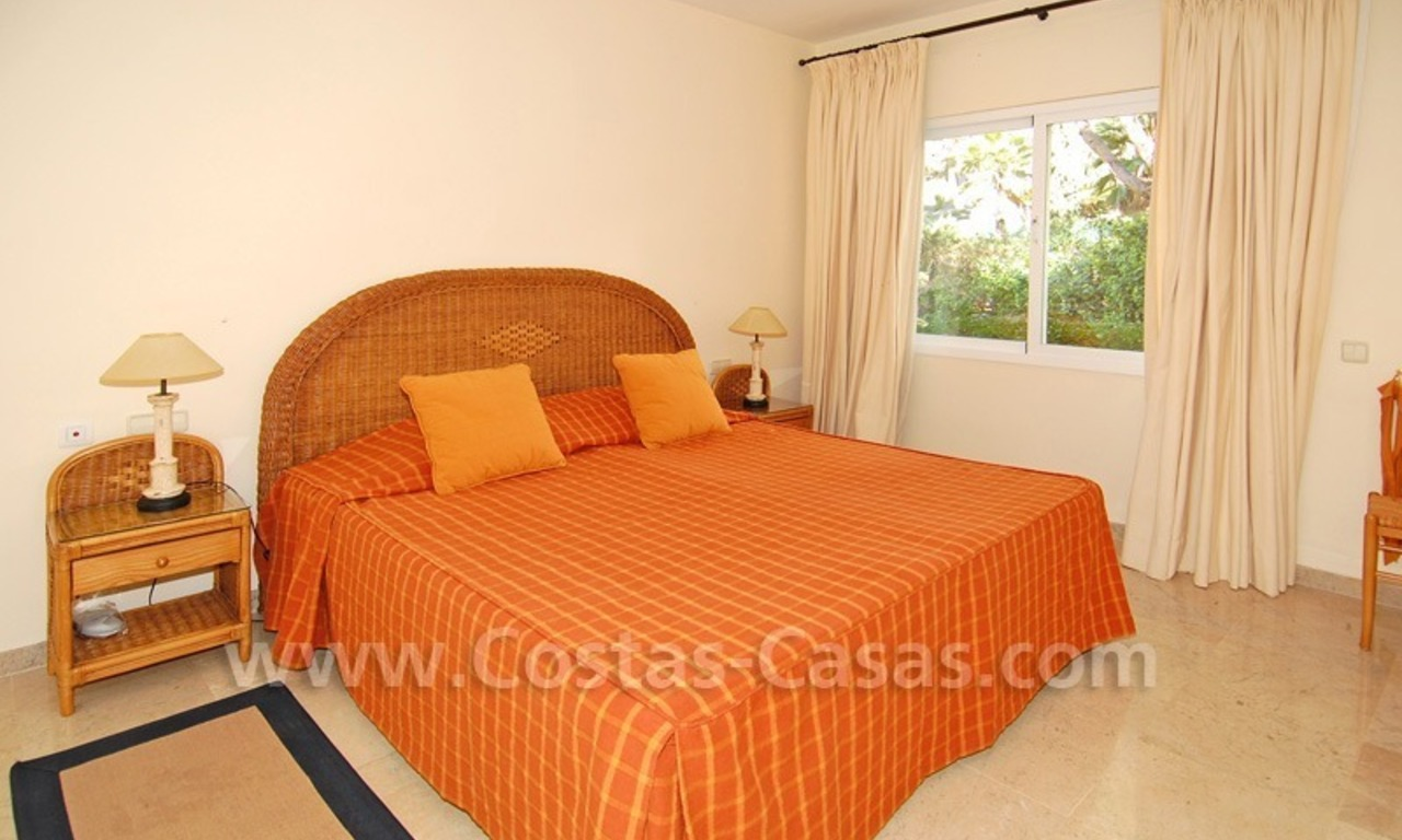 Front line golf apartment for sale in East Marbella 15