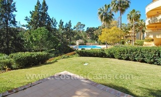 Front line golf apartment for sale in East Marbella 1
