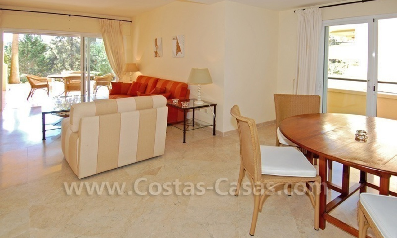 Front line golf apartment for sale in East Marbella 6