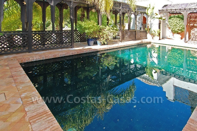 Moorish Andalusian double house for sale on the Golden Mile near Puerto Banus 2