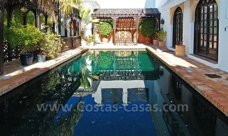 Moorish Andalusian double house for sale on the Golden Mile near Puerto Banus 3