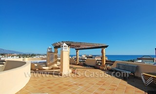 Luxury beachside penthouse apartment for sale, New Golden Mile, Marbella - Estepona 0