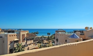 Luxury beachside penthouse apartment for sale, New Golden Mile, Marbella - Estepona 2