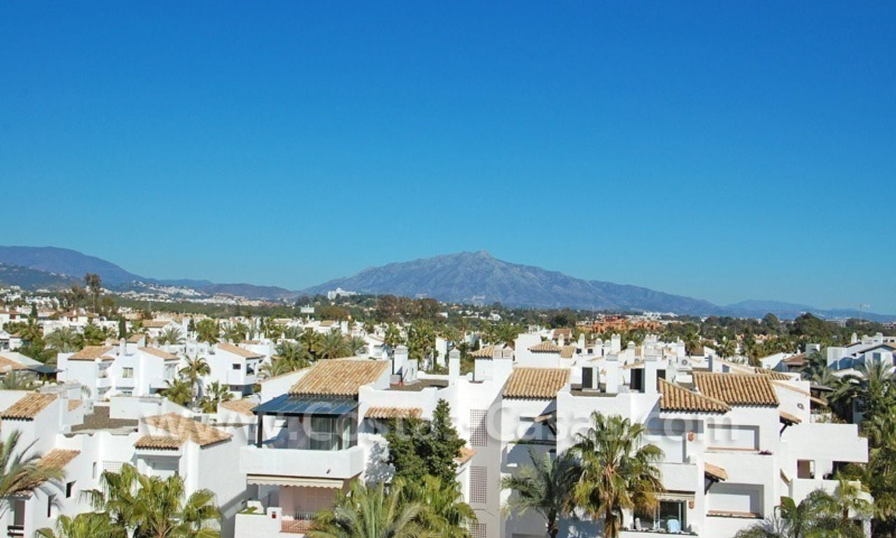 Luxury beachside penthouse apartment for sale, New Golden Mile, Marbella - Estepona 8