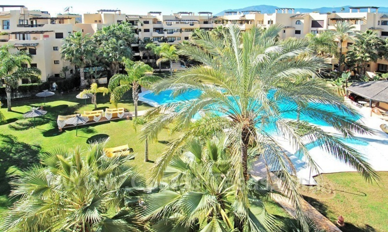 Luxury beachside penthouse apartment for sale, New Golden Mile, Marbella - Estepona 12