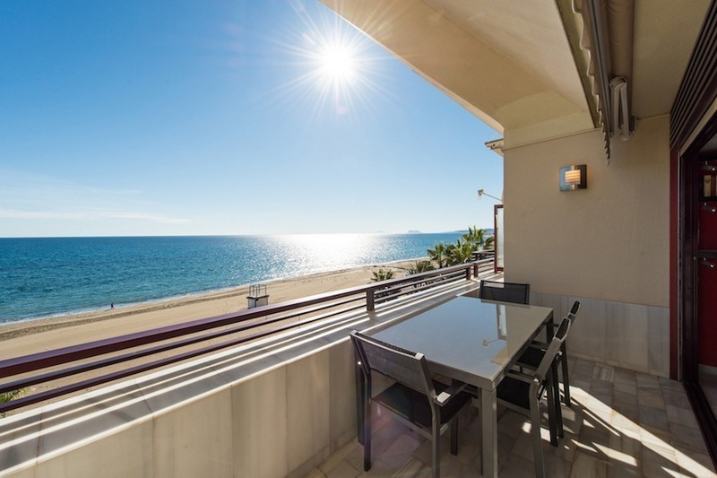 Penthouse apartments for sale next to each other, beachfront in Estepona centre