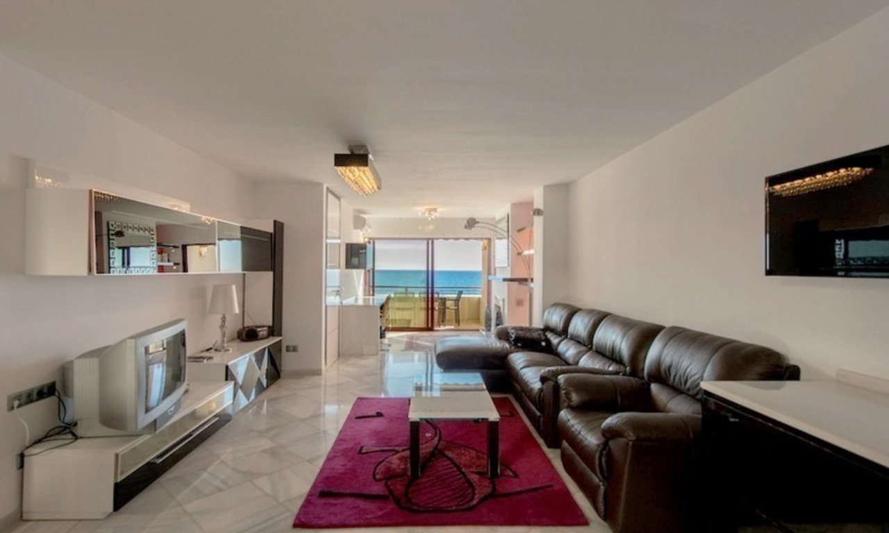 Penthouse apartments for sale next to each other, beachfront in Estepona centre 2