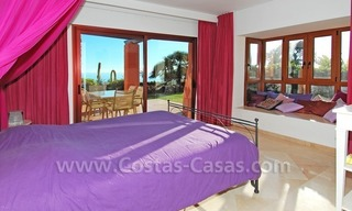 Luxury front line beach apartment for sale, first line beach complex, New Golden Mile, Marbella - Estepona 15