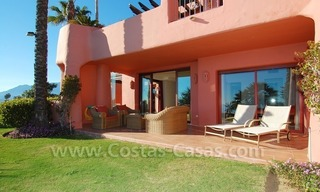 Luxury front line beach apartment for sale, first line beach complex, New Golden Mile, Marbella - Estepona 2