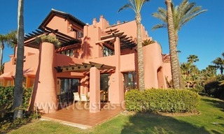 Luxury front line beach apartment for sale, first line beach complex, New Golden Mile, Marbella - Estepona 3