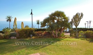 Luxury front line beach apartment for sale, first line beach complex, New Golden Mile, Marbella - Estepona 5