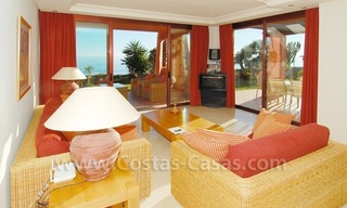 Luxury front line beach apartment for sale, first line beach complex, New Golden Mile, Marbella - Estepona 7