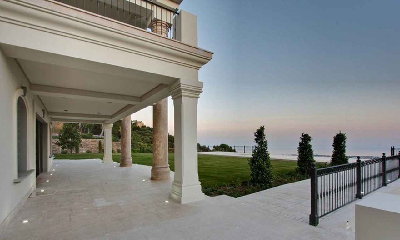 Tuscan styled new villa - mansion for sale, La Zagaleta, Marbella - Benahavis 4