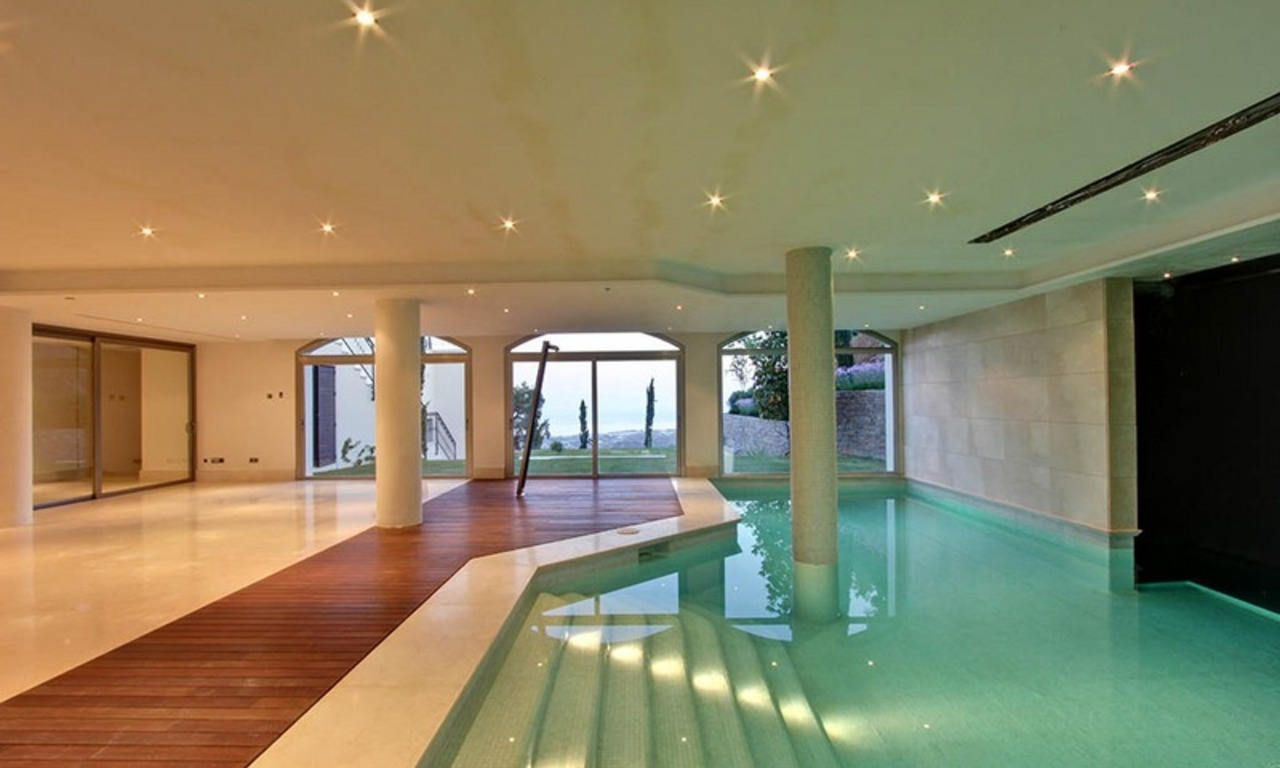 Tuscan styled new villa - mansion for sale, La Zagaleta, Marbella - Benahavis 6