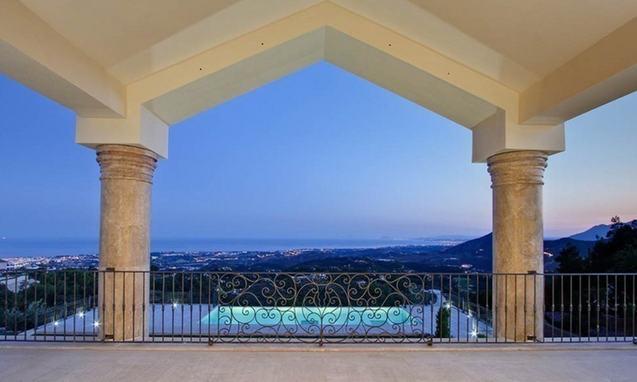 Tuscan styled new villa - mansion for sale, La Zagaleta, Marbella - Benahavis 5