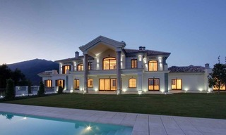 Tuscan styled new villa - mansion for sale, La Zagaleta, Marbella - Benahavis 1