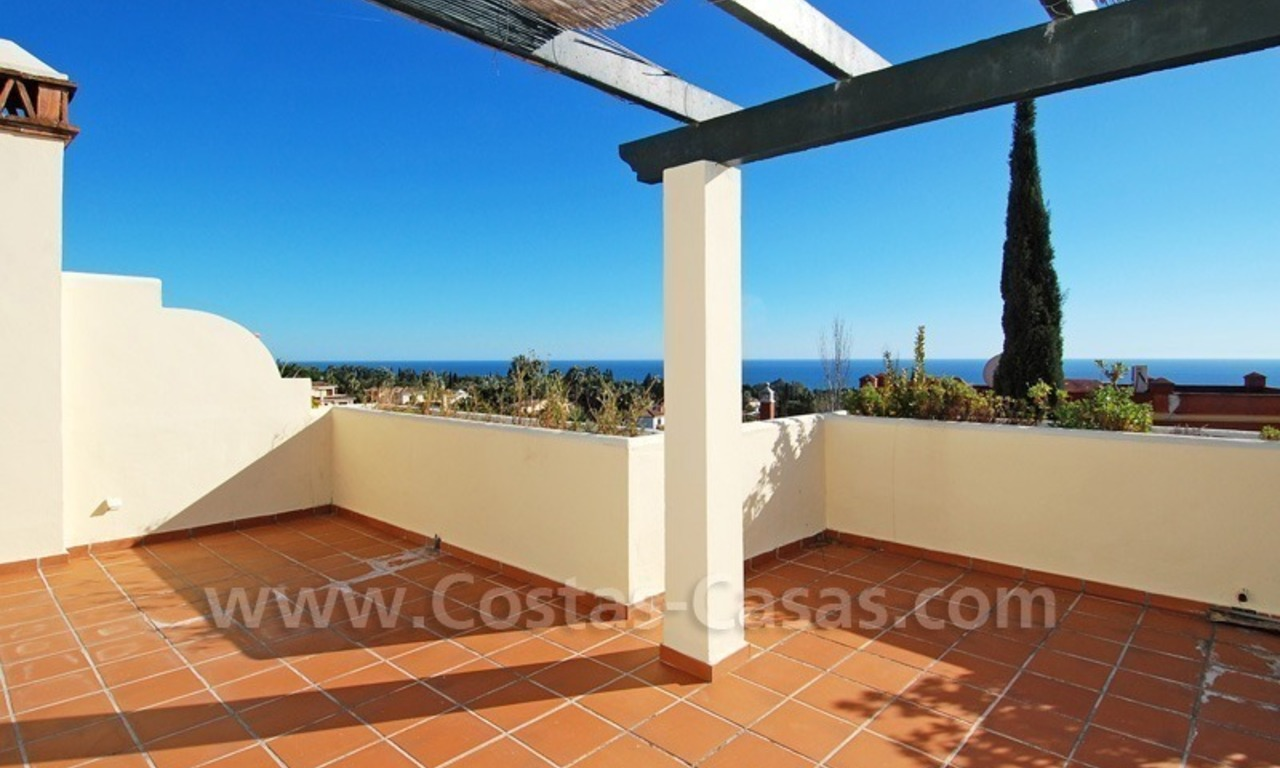 Townhouse for sale on the Golden Mile in Marbella 1