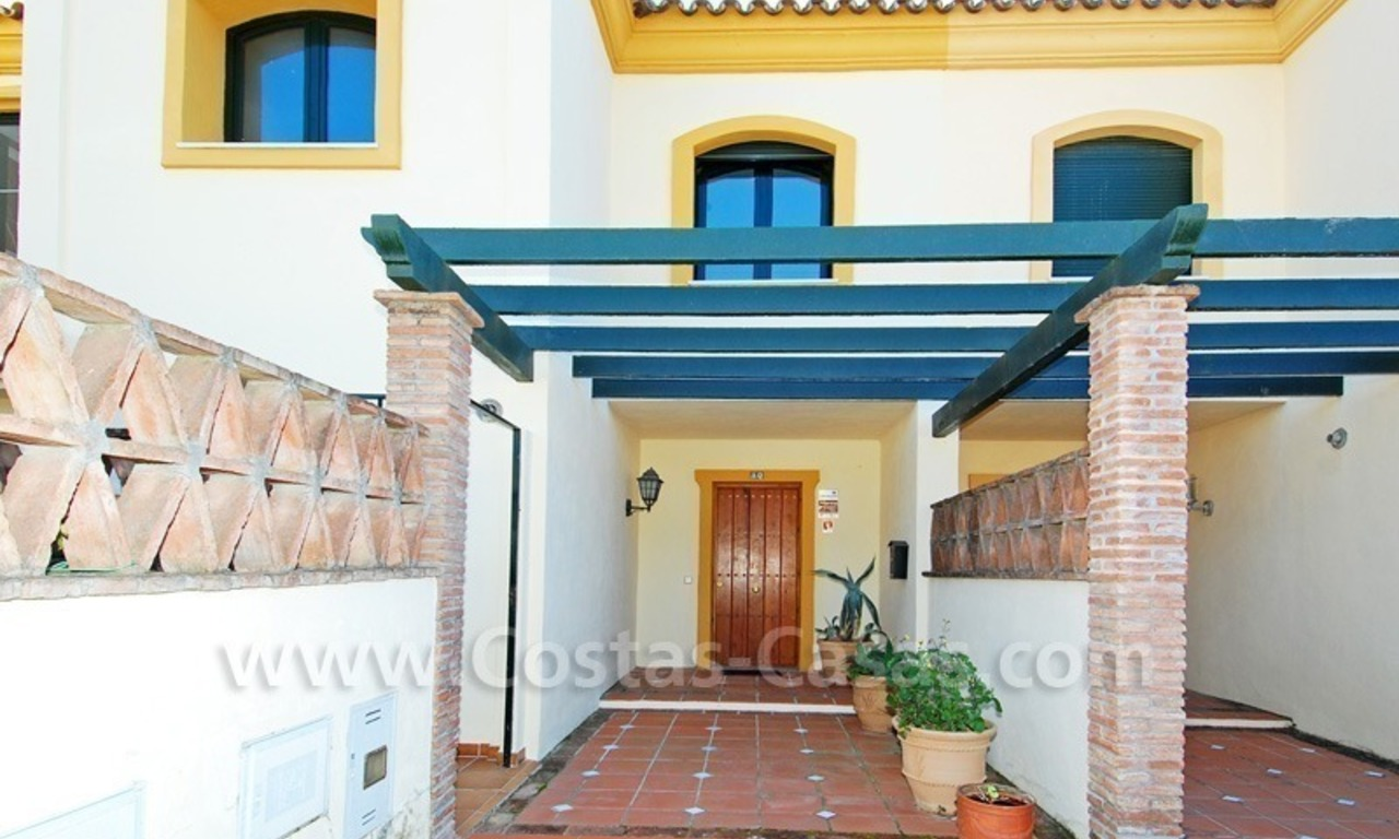 Townhouse for sale on the Golden Mile in Marbella 8