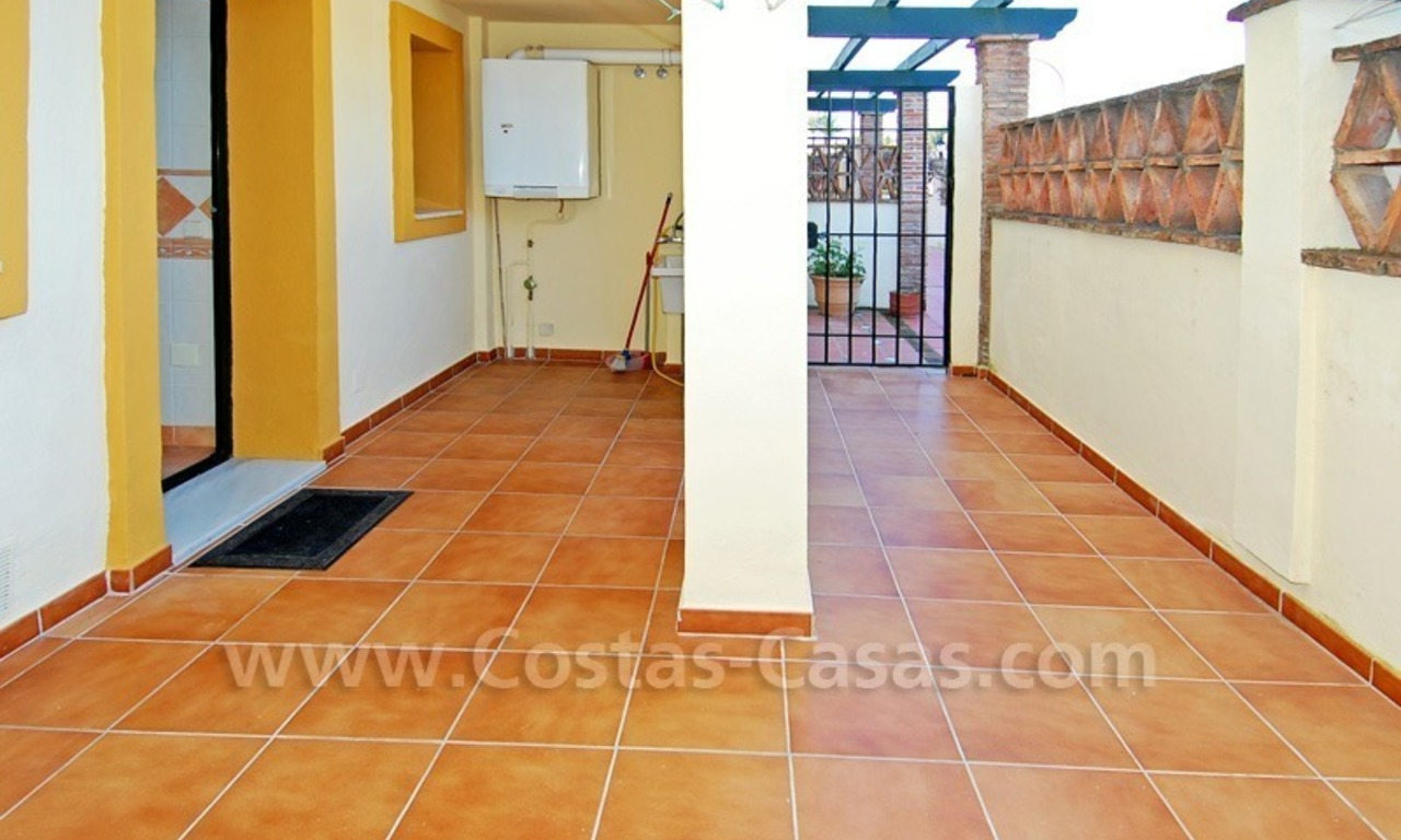 Townhouse for sale on the Golden Mile in Marbella 9