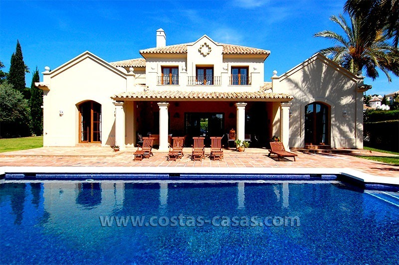 Distressed Sale! Andalusian Styled Villa for Sale in Estepona – Marbella