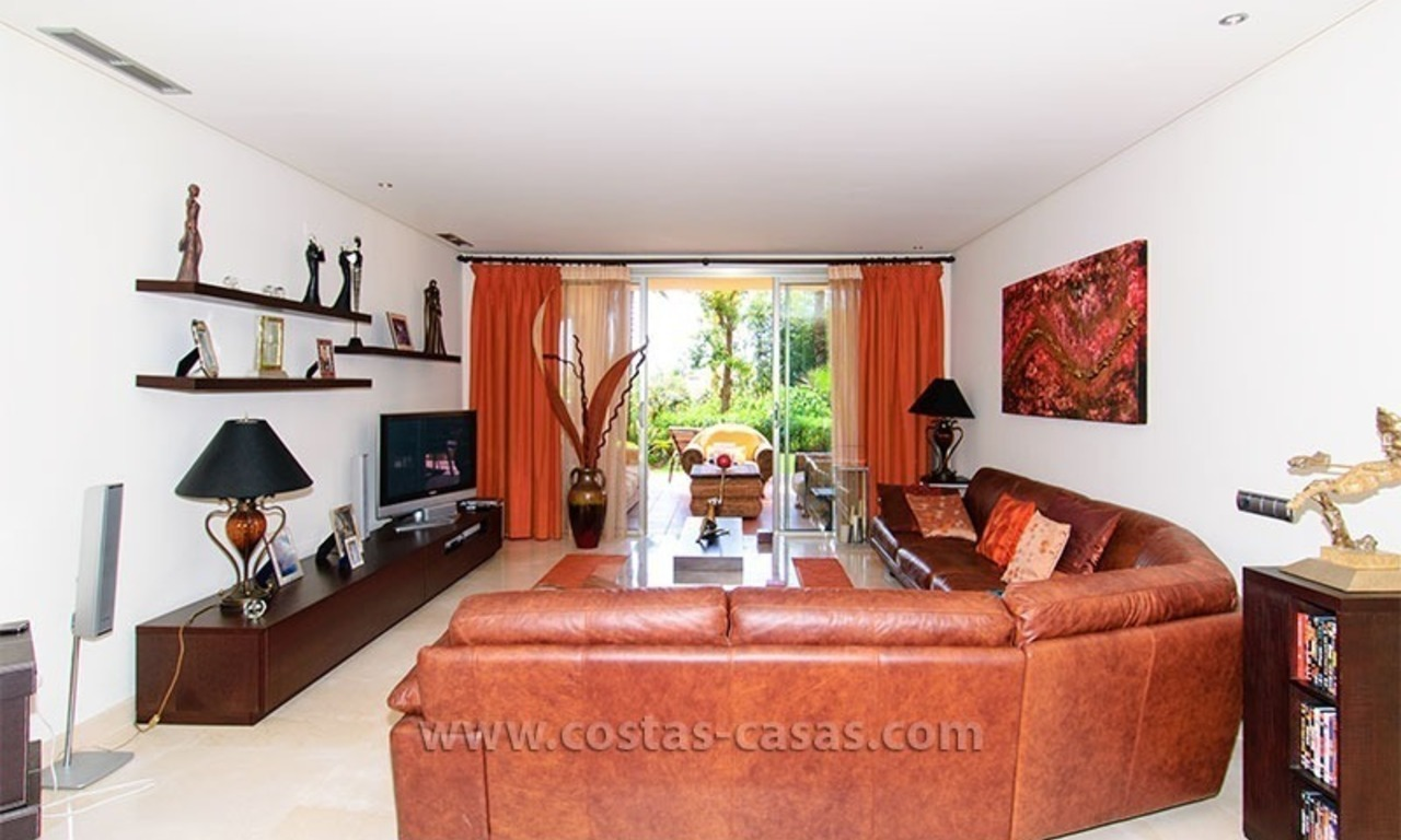 Exclusive Luxury Apartment for Sale on the Golden Mile in Marbella 5