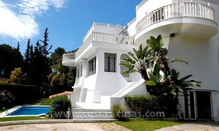 Second line golf villa for sale in Nueva Andalucia - Marbella 0