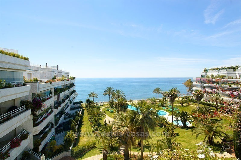 Exclusive apartment for sale on the Golden Mile, Puerto Banus