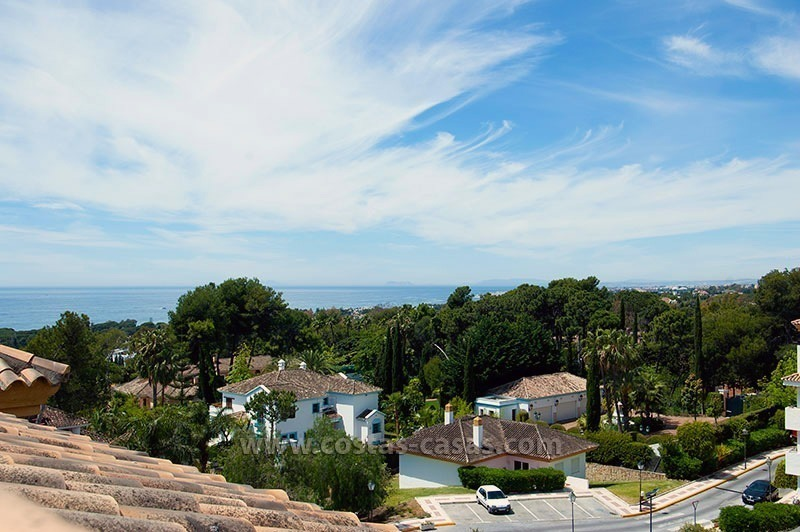 Penthouse for Sale on the Golden Mile in Marbella