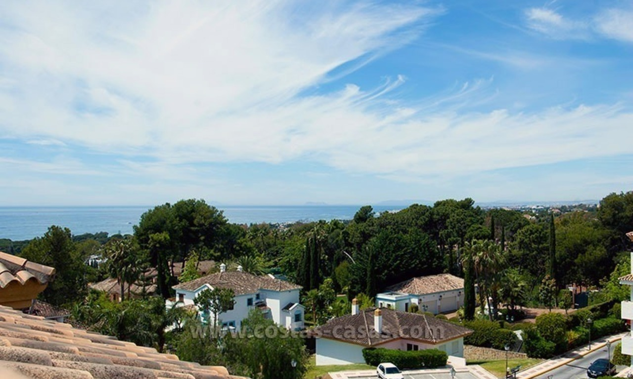 Penthouse for Sale on the Golden Mile in Marbella 0