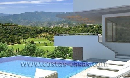 For Sale First Line Building Plot at Golf Resort in Marbella – Benahavis 1