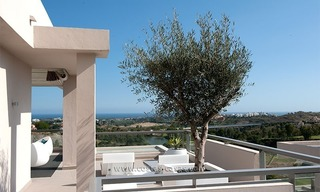 For Rent: New, Contemporary-style luxury vacation penthouse in Marbella-Benahavís, Costa del Sol 2