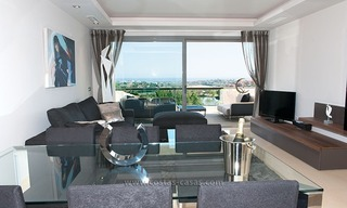 For Rent: New, Contemporary-style luxury vacation penthouse in Marbella-Benahavís, Costa del Sol 12