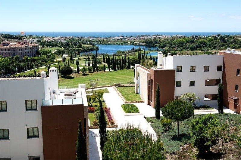 New Contemporary-style Luxury Vacation Apartment For Rent at Marbella-Benahavís Golf Resort on the Costa del Sol