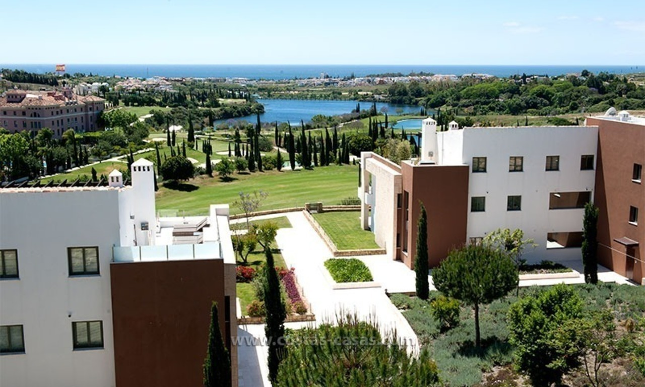 New Contemporary-style Luxury Vacation Apartment For Rent at Marbella-Benahavís Golf Resort on the Costa del Sol 0