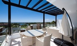 New Contemporary-style Luxury Vacation Apartment For Rent at Marbella-Benahavís Golf Resort on the Costa del Sol 3