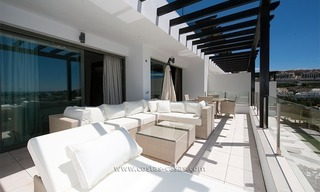 New Contemporary-style Luxury Vacation Apartment For Rent at Marbella-Benahavís Golf Resort on the Costa del Sol 2