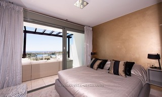 New Contemporary-style Luxury Vacation Apartment For Rent at Marbella-Benahavís Golf Resort on the Costa del Sol 13