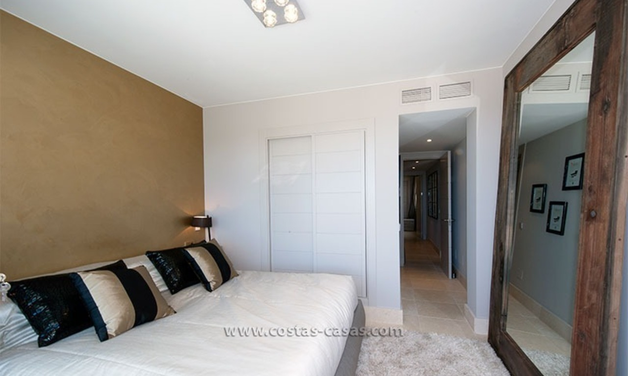 New Contemporary-style Luxury Vacation Apartment For Rent at Marbella-Benahavís Golf Resort on the Costa del Sol 14