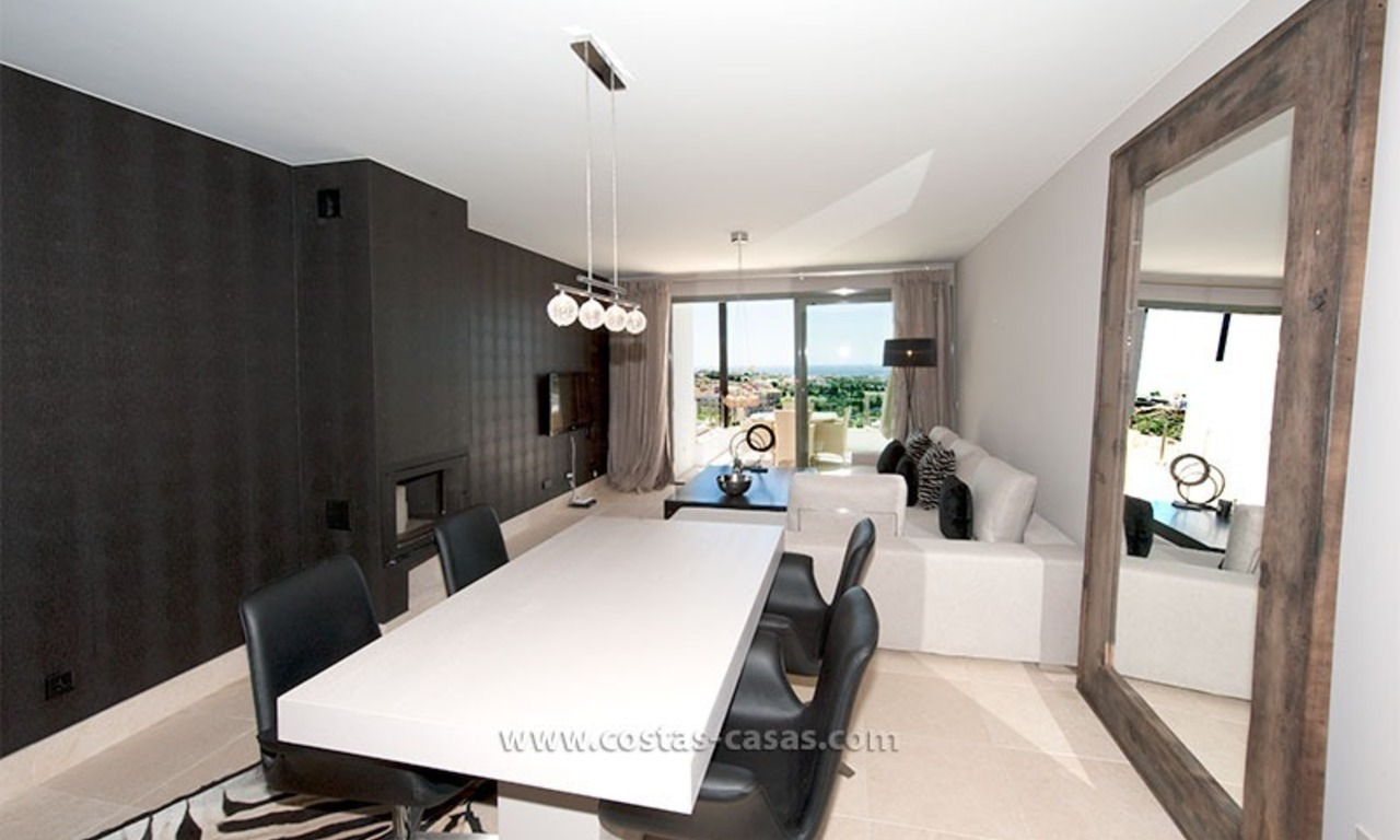 New Contemporary-style Luxury Vacation Apartment For Rent at Marbella-Benahavís Golf Resort on the Costa del Sol 9