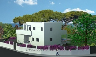New Contemporary - style Frontline Beach Villas for Sale in Marbella 2
