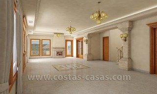 Exclusive newly built classical villa for sale on the Golden Mile in Marbella 3