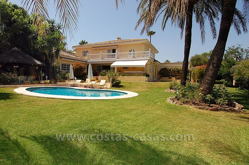 Golf villa to buy near San Pedro in Marbella